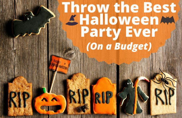 Throwing Last-Minute Halloween Party on Budget